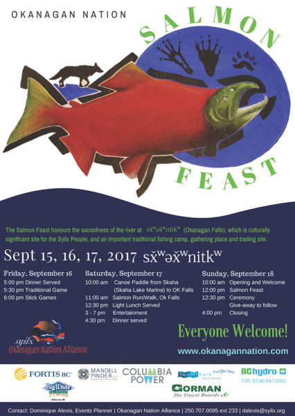 Salmon Feast Poster Copy