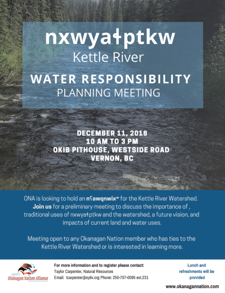 Kettle River Meeting Poster