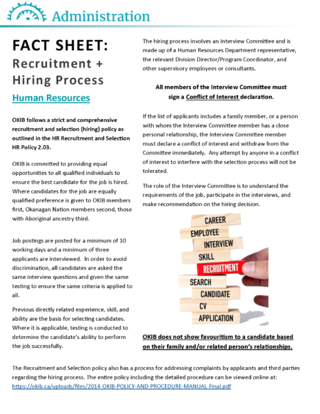 2017 Hr Recruitment And Hiring Poster