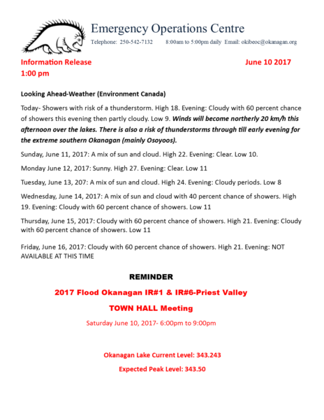 Eoc Information Release June 10 2017 100 Pm