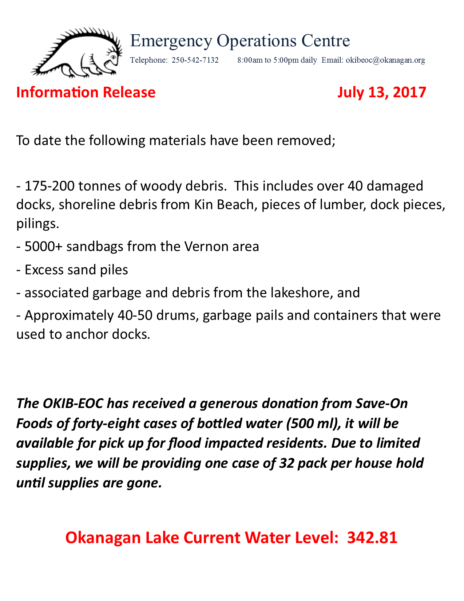 Okib Eoc Information Release July 13 2017
