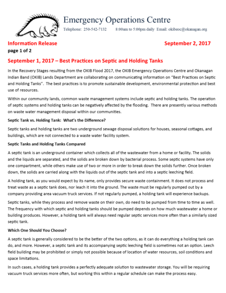 Okib Eoc Information Release September 2 2017 Page 1 Of2
