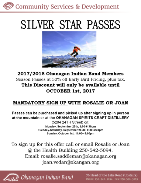Silver Star Passes